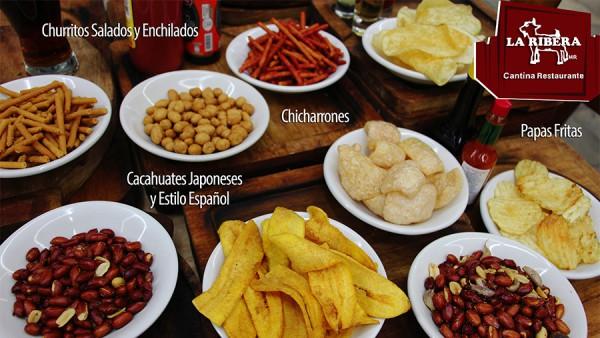 Platanitos, cacahuates y más