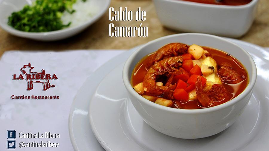Caldo de Camarón