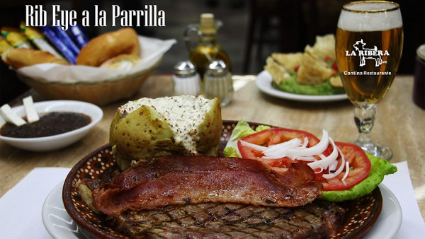 Rib Eye a la Parrilla